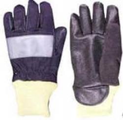 Перчатки пожарного ВСВ Комфорт (с манжетой)