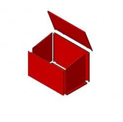 Ящик для песка разборный 0.5 м3.